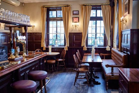Coach & Horses, Mayfair, London